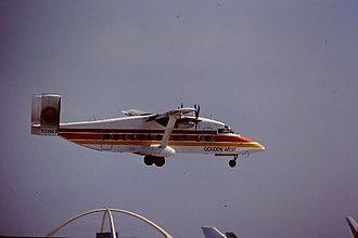 Golden West Airlines - Golden West Airlines Short 330, 1982