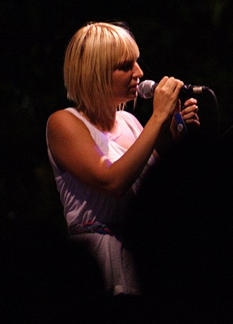 Diamonds (Rihanna song) - Image: Sia Furler in concert