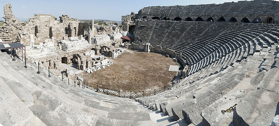 Side Theatre panorama