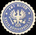 Siegelmarke Amt Hufen - Kreis Königsberg W0214252.jpg