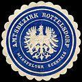 Siegelmarke Amtsbezirk Rottelsdorf - Mansfelder Seekreis W0253420.jpg