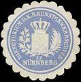 Siegelmarke Directorium der K. Bayer. Kunstgewerbschule zu Nürnberg W0353242.jpg