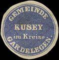 Siegelmarke Gemeinde Kusey W0343118.jpg