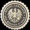 Siegelmarke Königlicher Landrath des Kreises St. Goar W0209171.jpg