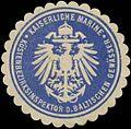 Siegelmarke K. Marine Küstenbezirksinspektor der baltischen Gewässer W0357524.jpg