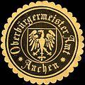 Siegelmarke Oberbürgermeister Amt - Aachen W0220533.jpg