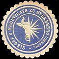 Siegelmarke Siegel des Magistrats zu Sternberg W0210214.jpg