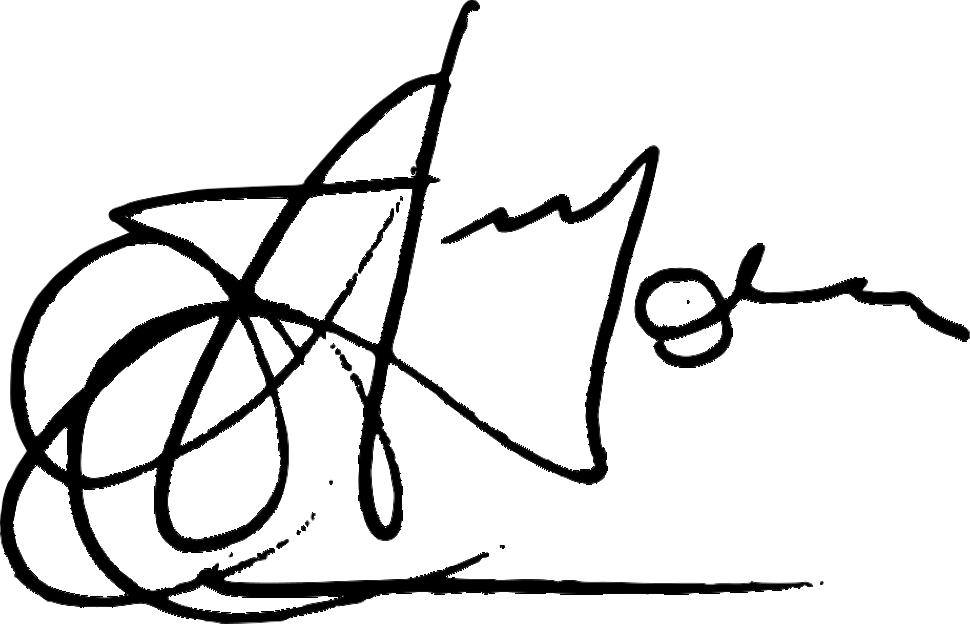 Eddie Fenech Adami's signature