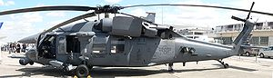 Sikorsky HH-60 Pave Hawk - An HH-60 at the 2007 Paris Air Show