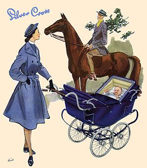 Silver Cross (company) - Silver Cross Vintage Advert