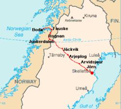 karta jäckvik Riksväg 95 – Wikipedia karta jäckvik