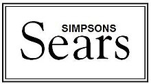 Simpsons-Sears logo from 1965 until 1972 13971a43f
