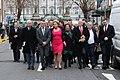 Sinn Féin MPs, MLAs & TDs en route to the Dáil100 event (45922968785).jpg
