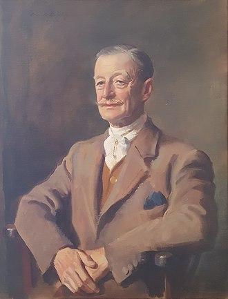 Gilbert Acland-Troyte - Portrait of Acland-Troyte by Oswald Birley, 1945