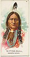 Sitting Bull, Dakota Sioux, from the American Indian Chiefs series (N2) for Allen & Ginter Cigarettes Brands MET DP827996.jpg