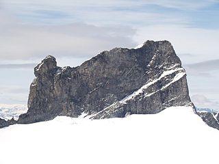 Skarstind mountain in Norway