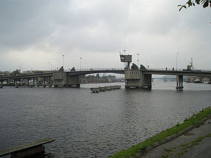 Skien watershed - The Skien watershed has its mouth under the bridges in Porsgrunn, where it drains into the Frierfjord
