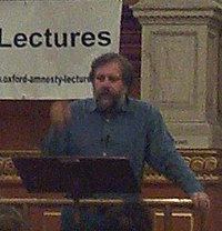 Slavoj Zizek Oxford Amnesty Lecture 20040128 adjusted.jpg