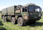Slovenian Army Truck