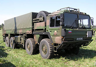 Slovenian Armed Forces - Image: Slovenian Army Truck
