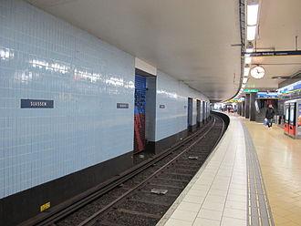Slussen metro station - Image: Slussen metro station