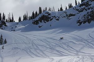 Rabbit Ears Pass - Rabbit Ears Pass offers one of the best places to snowmobile in all of Northwest Colorado