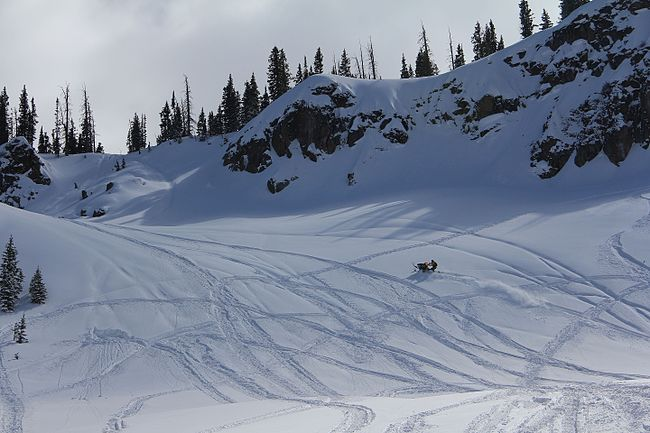 Rabbit Ears Pass offers one of the best places to snowmobile in all of Northwest Colorado