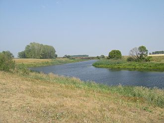 Mordovsky District - Image: Solonka river Lavrenchev