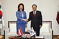 Solvita Āboltiņa oficiālā vizītē apmeklē Dienvidkoreju.jpg