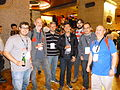 Some Wikimedia Spain members at Wikimania 2014.JPG