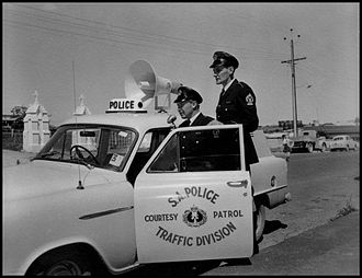 South Australia Police - 1959 SAPOL Traffic Division Patrol Vehicle