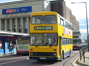 Diamond Bus North West - Northern Counties Palatine bodied Volvo Citybus in February 2004