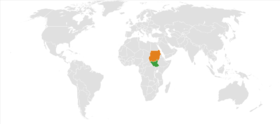 South Sudan Sudan Locator.png