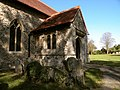 South porch of St. Andrew's church at Good Easter - geograph.org.uk - 1506888.jpg