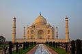 Southern View of Taj Mahal at Sunset.JPG