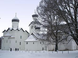 Staraya Russa - The Transfiguration Monastery