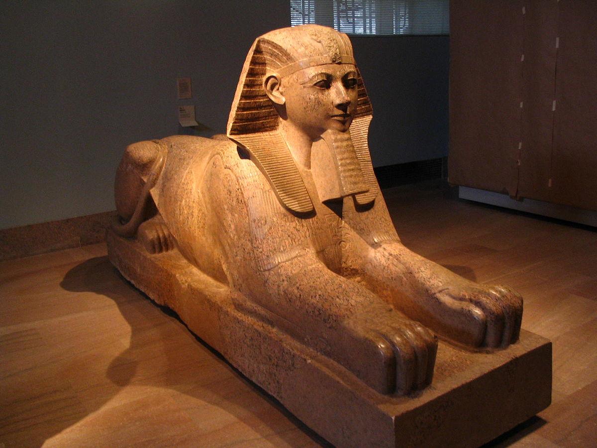 Sphinx gyptisch wikipedia for Sofa von der seite
