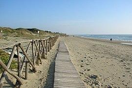 Spiaggia di Capocotta Roma