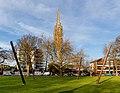 Spires sculpture, Christchurch, New Zealand 03.jpg