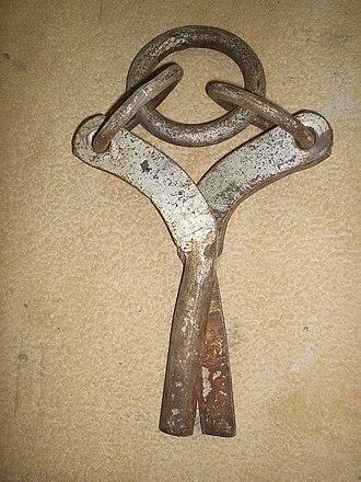 Lewis (lifting appliance) - Split-pin lewis