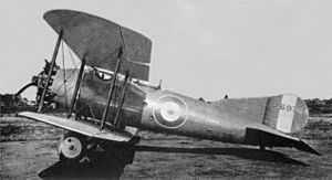 Short Springbok - Springbok I prototype (J6974), Martlesham Heath 1923