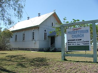 Springsure - Image: Springsure qld presbyterian church