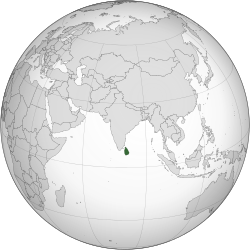 Sri Lanka (orthographic projection).svg