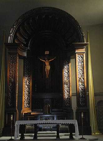 St. Charles Borromeo Church (North Hollywood) - Altar at St. Charles Borromeo