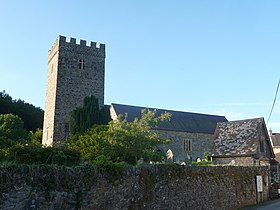 St. Cynwyls parish church, Caio Caeo, Carms. (geograph 3076365).jpg
