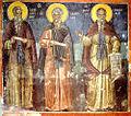 St. John, St. Theophanios, St. Theodosios - Stavronikita monastery, Mt Athos - Theophanes of Crete, 16th c..jpg