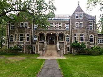 Saint Joseph's Seminary (Plainsboro, New Jersey) - Image: St. Joseph's Seminary (Princeton, New Jersey) building one