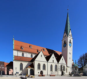 Kempten - Gothic St. Mang Church