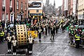 St. Patrick's Day Parade (2013) In Dublin - Purdue University All-American Marching Band, Indiana, USA (8565437545).jpg