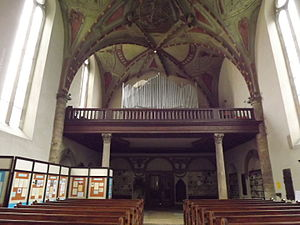 St. Wenceslas Church (Zderaz) - The choir.